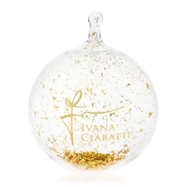 Ivana Ciabatti - Palla di Natale - Gold Limited Edition - Preziosa Sfera in Vetro Soffiato - Handmade in Italy - Home Luxury