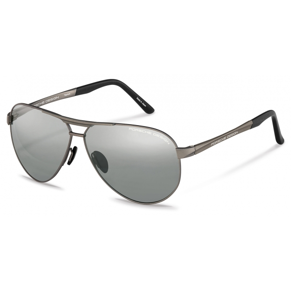 Porsche Design - P´8649 Sunglasses - Photochromic - Satin Gun - Porsche Design Eyewear