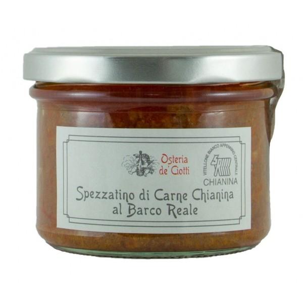 Alla Gusteria - Osteria de Ciotti - Nunquam - Spezzatino di Cinta Senese con Cannellini di San Ginese - 200 g