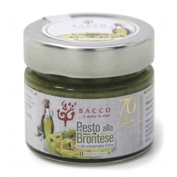 Bacco - Tipicità al Pistacchio - Pesto alla Brontese 70 % - Pistachio from Bronte - 40 g