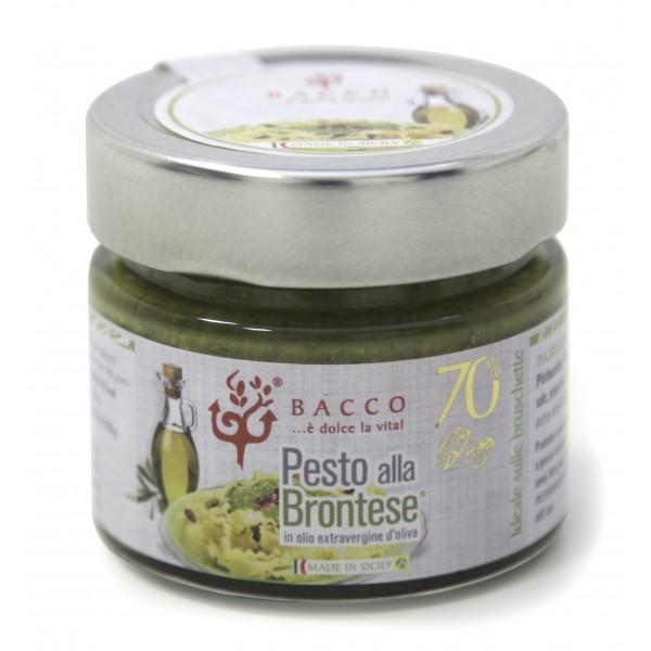 Bacco - Tipicità al Pistacchio - Pesto alla Brontese 70 % - Pistacchio di Bronte - 40 g