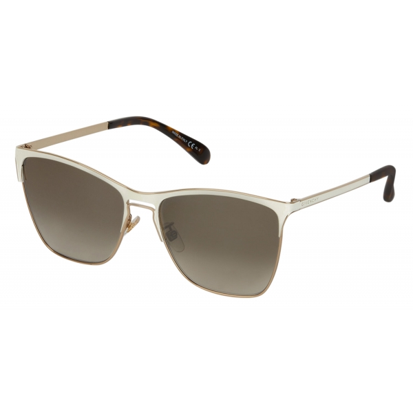 Givenchy - GV Halo Square Sunglasses - Ivory - Sunglasses - Givenchy Eyewear