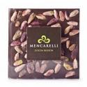 Mencarelli Cocoa Passion - Cioccolato Fondente e Pistacchio - Tavoletta Cioccolato 80 g