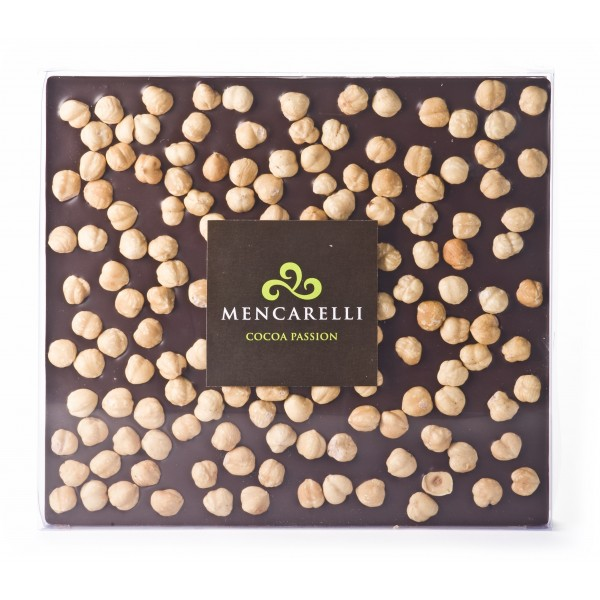 Mencarelli Cocoa Passion - Dark Chocolate and Hazelnut - Tablet Chocolate 500 g