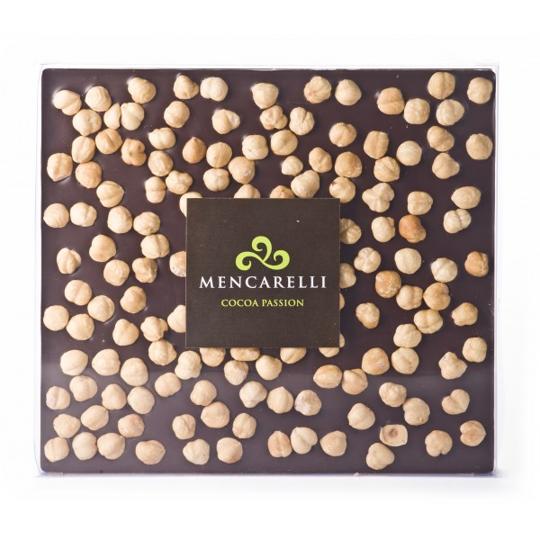 Mencarelli Cocoa Passion - Milk Chocolate and Hazelnut - Tablet Chocolate 500 g