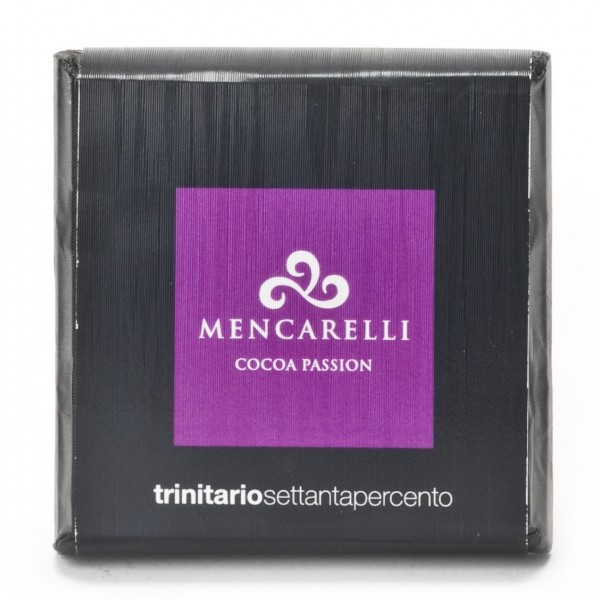 Mencarelli Cocoa Passion - Dark Chocolate Bar Trinitario - Chocolate Bar 50 g