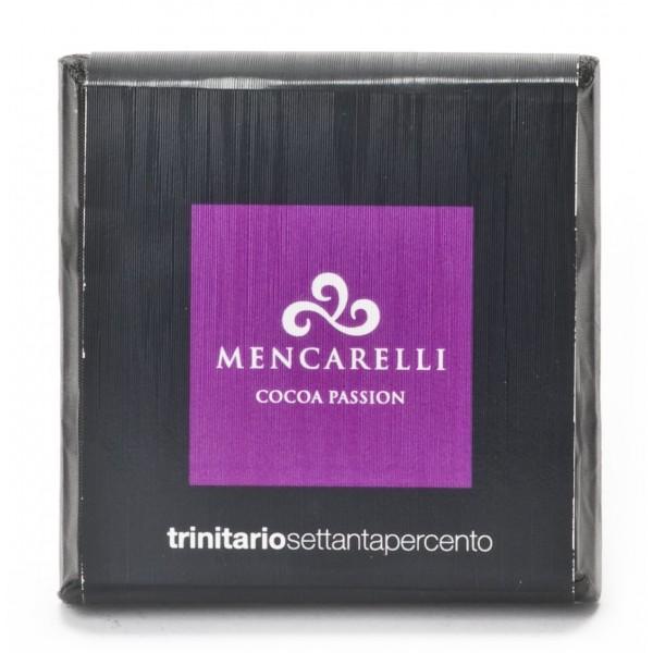 Mencarelli Cocoa Passion - Tavoletta Cioccolato Fondente Trinitario - Tavoletta Cioccolato 50 g