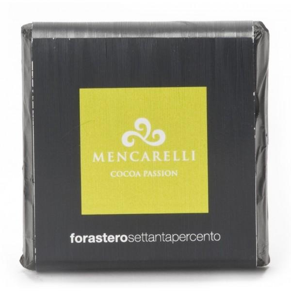 Mencarelli Cocoa Passion - Dark Chocolate Bar Forastero - Chocolate Bar 50 g