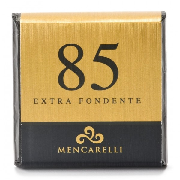 Mencarelli Cocoa Passion - Dark Chocolate Bar 85 % - Chocolate Bar 50 g