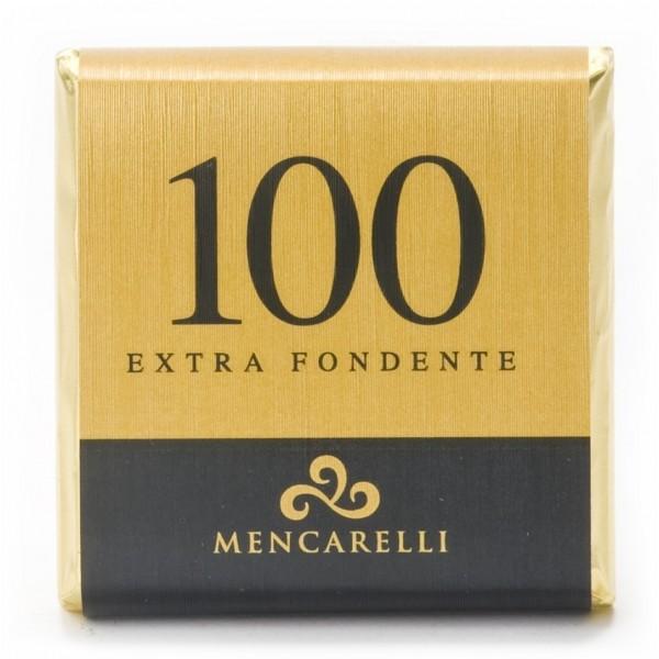 Mencarelli Cocoa Passion - Dark Chocolate Bar 100 % - Chocolate Bar 50 g