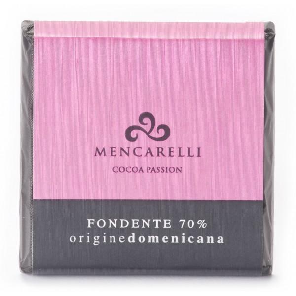 Mencarelli Cocoa Passion - Tavoletta Cioccolato Fondente Origine Dominicana - Tavoletta Cioccolato 50 g