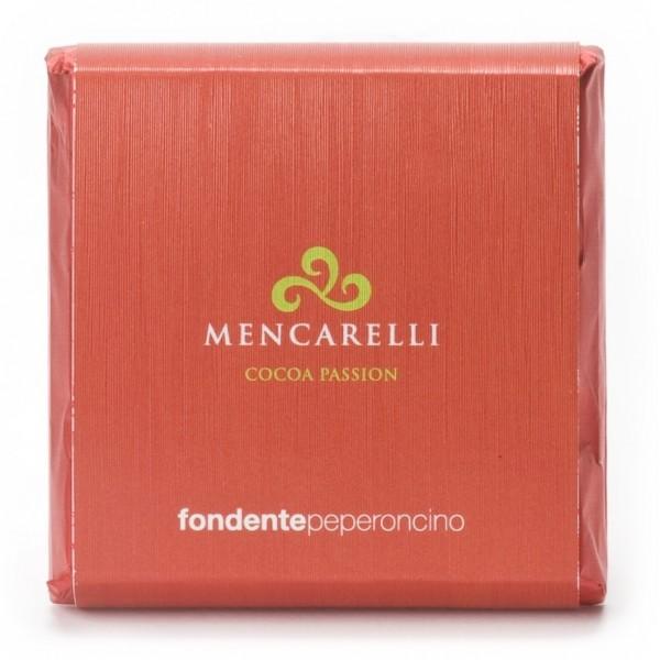Mencarelli Cocoa Passion - Tavoletta Cioccolato Fondente e Peperoncino - Tavoletta Cioccolato 50 g