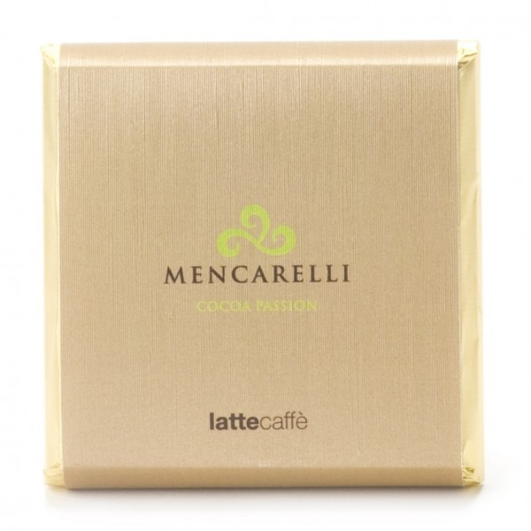 Mencarelli Cocoa Passion - Milk Chocolate Bar with Coffee - Chocolate Bar 50 g