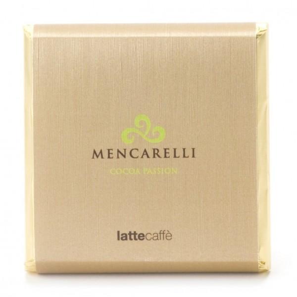Mencarelli Cocoa Passion - Tavoletta Cioccolato Latte e Caffè - Tavoletta Cioccolato 50 g