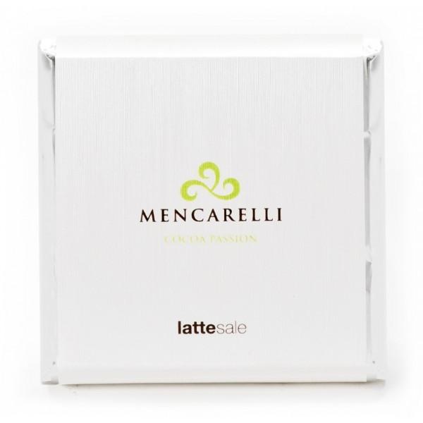 Mencarelli Cocoa Passion - Tavoletta Cioccolato Latte e Sale - Tavoletta Cioccolato 50 g