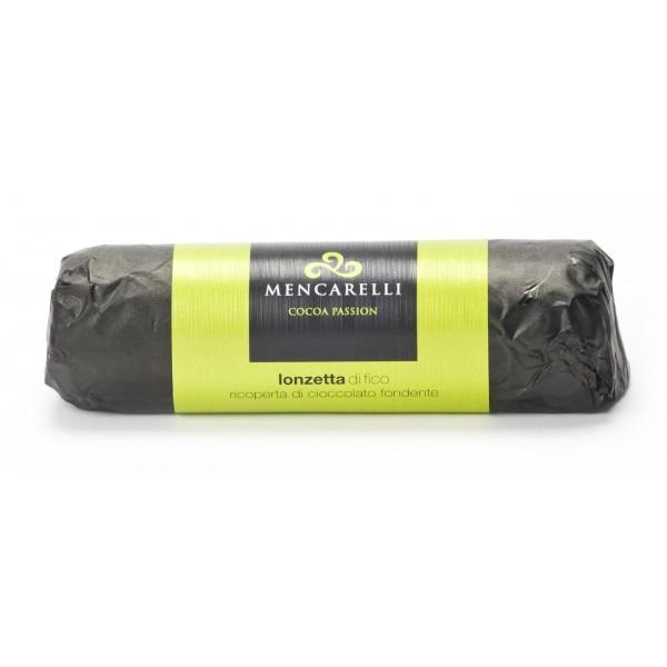 Mencarelli Cocoa Passion - Lonza di Fico Ricoperta di Cioccolato Fondente 150 g