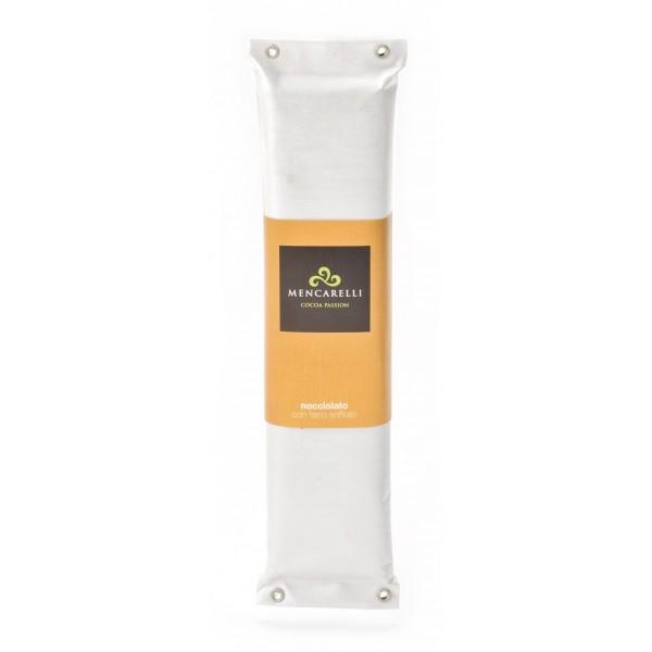 Mencarelli Cocoa Passion - Nocciolato al Farro Soffiato - Cioccolato Artigianale 200 g