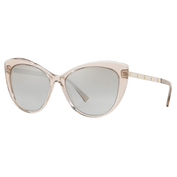Versace - Sunglasses Medusina Cat Eye - Rose Brown - Sunglasses - Versace Eyewear