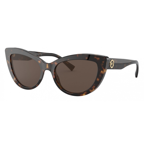 Versace - Sunglasses Medusa Icon Cat-Eye - Havana - Sunglasses - Versace Eyewear