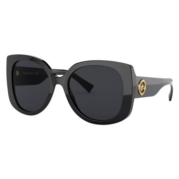Versace - Sunglasses Medusa Icon Squared - Black - Sunglasses - Versace Eyewear