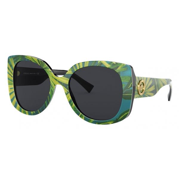 Versace - Sunglasses Medusa Icon Squared - Print - Sunglasses - Versace Eyewear