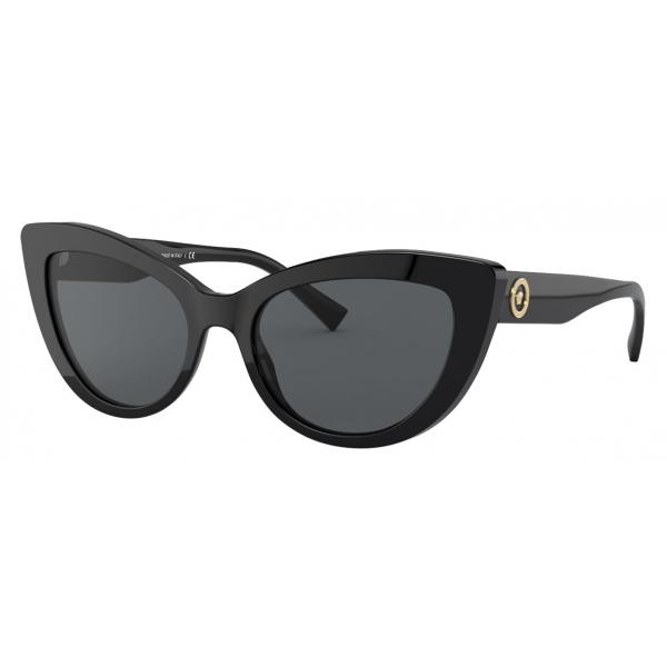 Versace - Sunglasses Medusa Icon Cat-Eye - Black - Sunglasses - Versace Eyewear