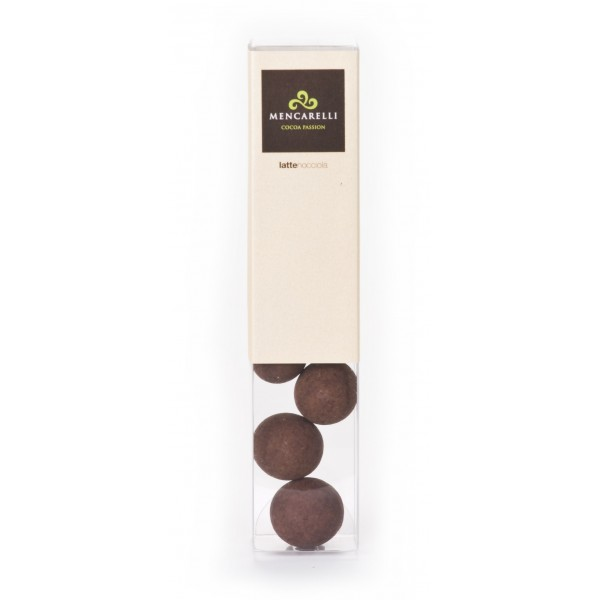 Mencarelli Cocoa Passion - Hazelnut Dragee with Milk Chocolate - Artisan Chocolate 50 g