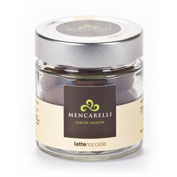 Mencarelli Cocoa Passion - Hazelnut Dragee with Milk Chocolate - Artisan Chocolate 110 g