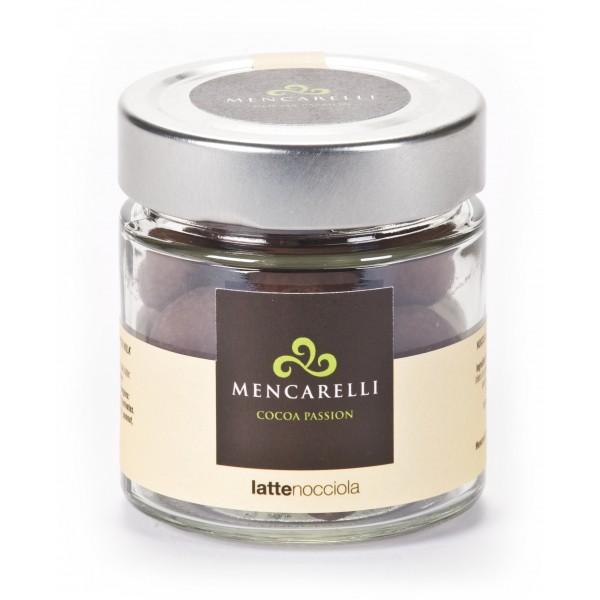 Mencarelli Cocoa Passion - Hazelnut Dragee with Milk Chocolate - Artisan Chocolate 110 g