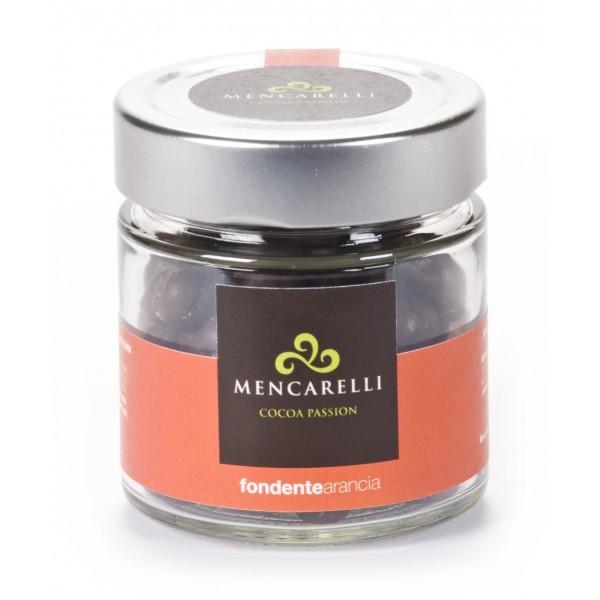Mencarelli Cocoa Passion - Orange Dragee - Artisan Chocolate 110 g