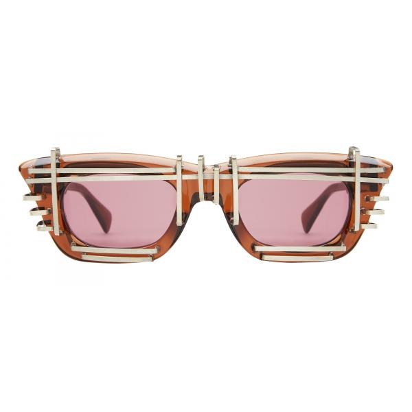 Kuboraum - Mask C20 - Artificial Intelligence - Marrone - C20 BR AI - Occhiali da Sole - Kuboraum Eyewear