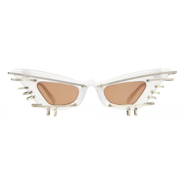 Kuboraum - Mask Y7 - Artificial Intelligence - Perla - Y7 PL AI - Occhiali da Sole - Kuboraum Eyewear