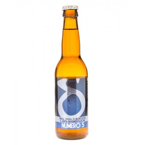 Birrificio Artigianale Lis d'Oc - Numero 5 - Birra Artigianale - 330 ml