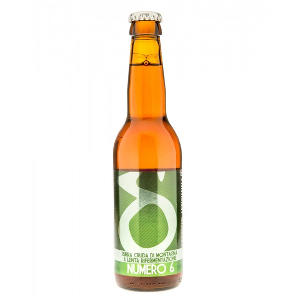 Birrificio Artigianale Lis d'Oc - Numero 6 - Artisan Beer - 330 ml