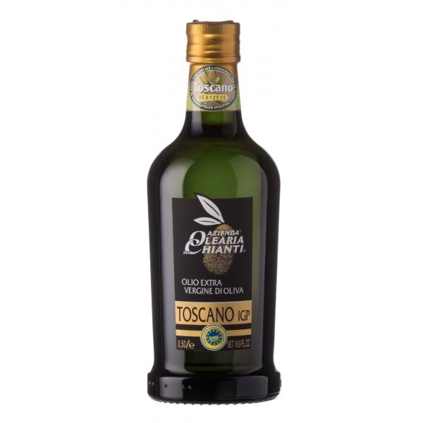 Azienda Olearia del Chianti - 12 bt - Olio Extravergine di Oliva Filtrato I.G.P. Toscano - 500 ml