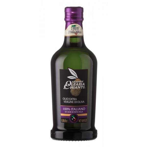Azienda Olearia del Chianti - 12 bt - Extravirgin Olive Oil Filtered Italian - 500 ml