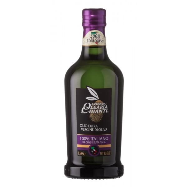 Azienda Olearia del Chianti - 12 bt - Olio Extravergine di Oliva Filtrato Italiano - 500 ml