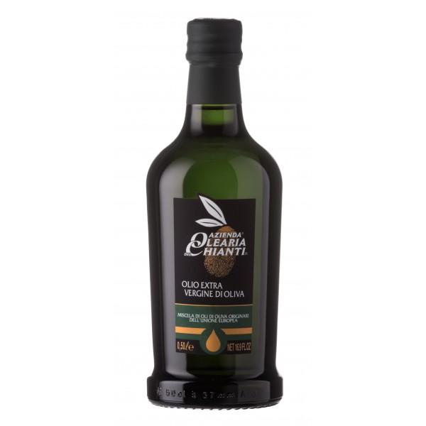 Azienda Olearia del Chianti - 12 bt - Extravirgin Olive Oil Filtered European Comunity - E.U. - 500 ml