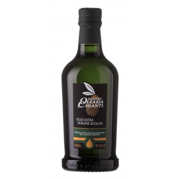 Azienda Olearia del Chianti - 12 bt - Olio Extravergine di Oliva Filtrato Comunitario - E.U. - 500 ml