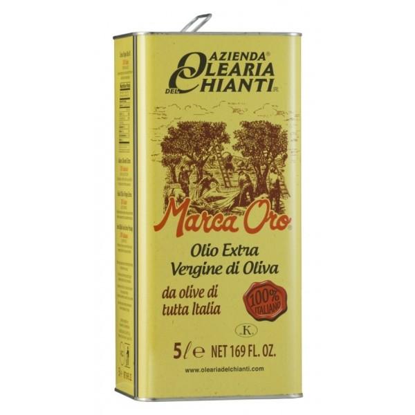 Azienda Olearia del Chianti - Olio Extravergine di Oliva Filtrato Italiano - 5 l