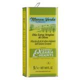 Azienda Olearia del Chianti - Olio Extravergine di Oliva Filtrato Comunitario - E.U. - 5 l