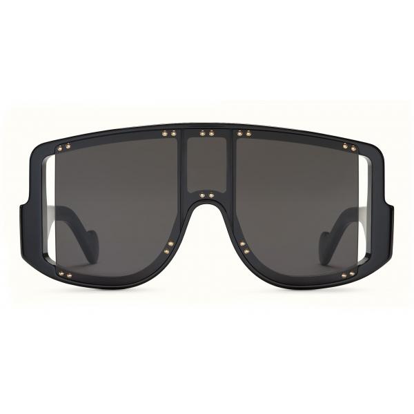 Fenty - Blockt II Mask - Jet Black - Sunglasses - Rihanna Official - Fenty Eyewear