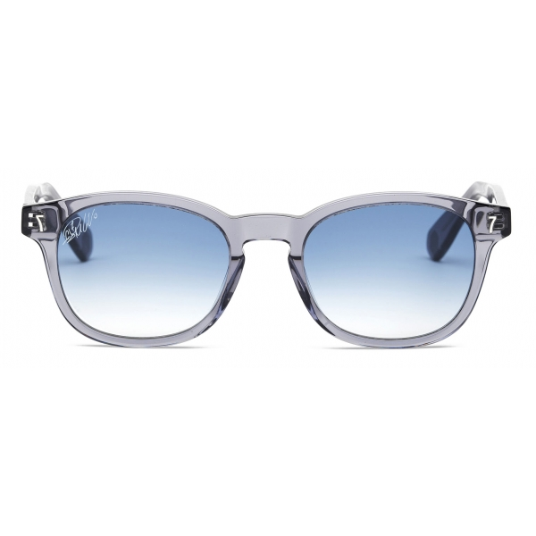 CR7 - Cristiano Ronaldo - BD001 - Grigio Lucido - Occhiali da Sole - Exclusive Official Collection - CR7 Eyewear