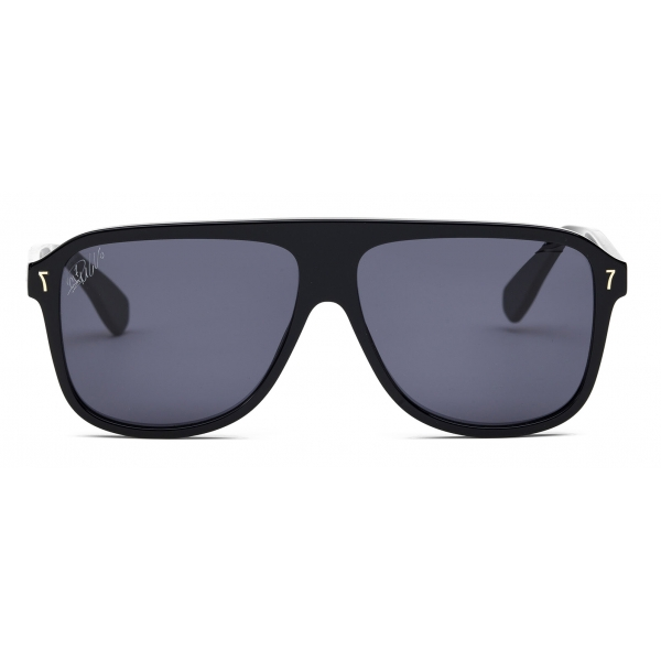 CR7 - Cristiano Ronaldo - BD002 - Glossy Black Frame - Sunglasses - Exclusive Official Collection - CR7 Eyewear