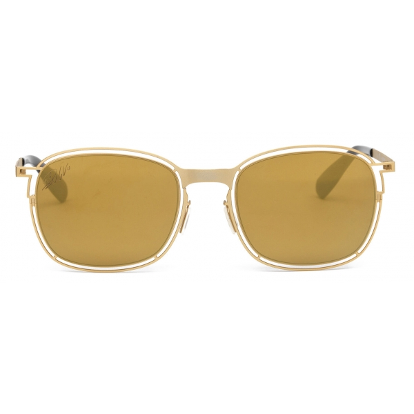 CR7 - Cristiano Ronaldo - GS002 - Semiglossy Gold Frame - Sunglasses - Exclusive Official Collection - CR7 Eyewear