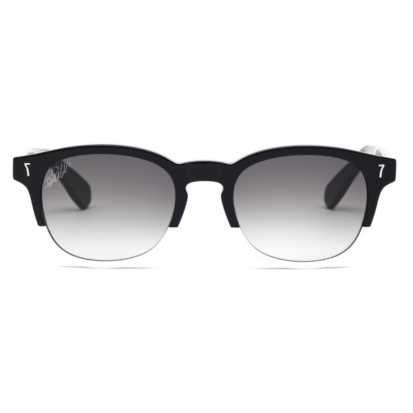 CR7 - Cristiano Ronaldo - BD001 - Glossy Black and White Frame - Sunglasses - Exclusive Official Collection - CR7 Eyewear