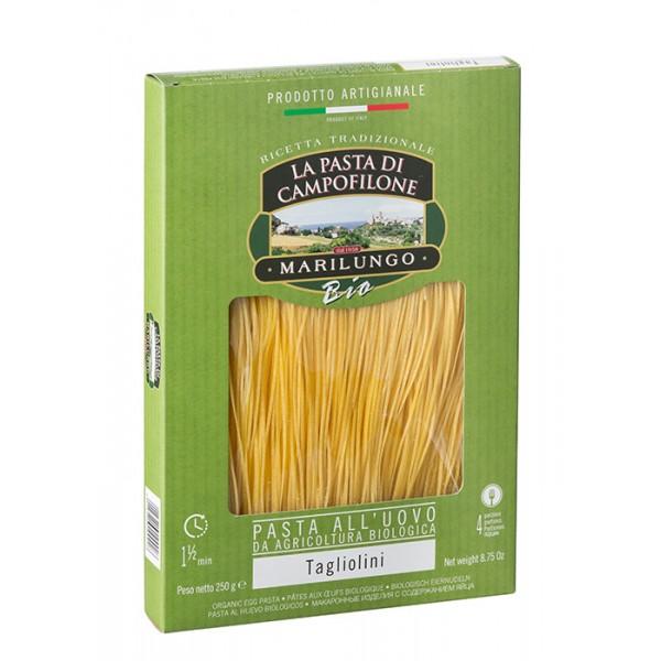 Pasta Marilungo - Tagliolini Organic - Organic Campofilone - Pasta of Campofilone