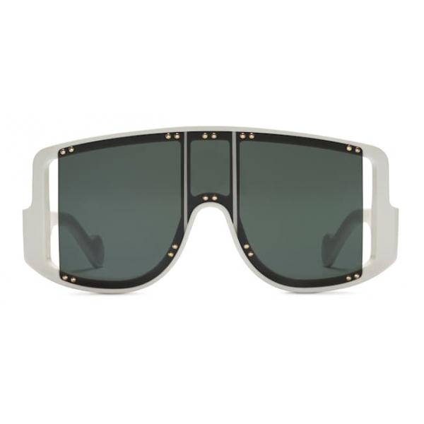 Fenty - Blockt II Mask - Coco White - Occhiali da Sole - Rihanna Official - Fenty Eyewear
