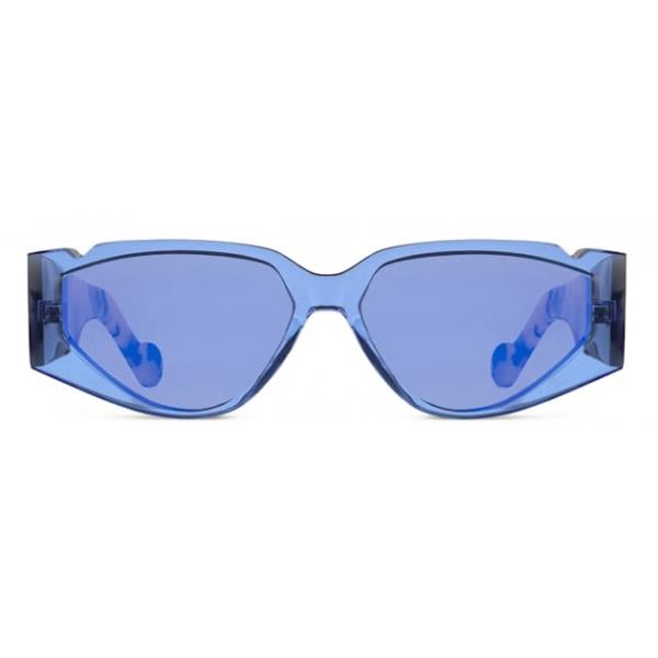 Fenty - Occhiali da Sole Off Record - Cosmic Blue - Occhiali da Sole - Rihanna Official - Fenty Eyewear