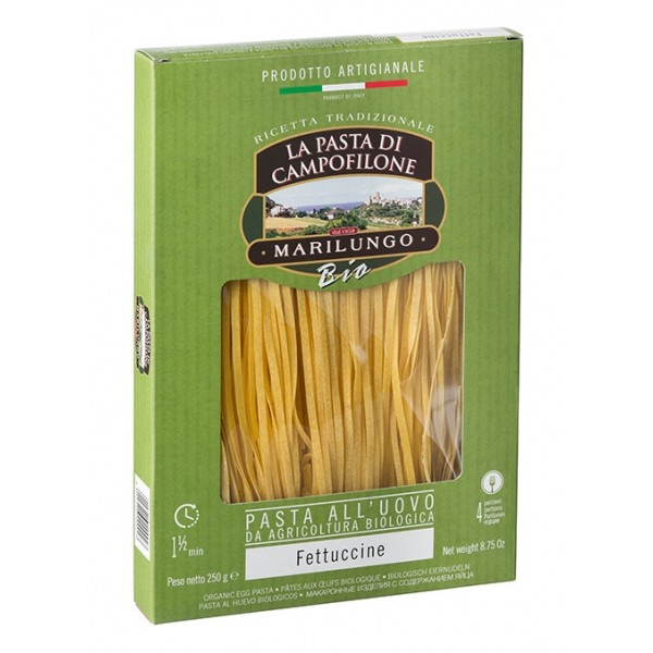 Pasta Marilungo - Fettuccine Organic - Organic Campofilone - Pasta of Campofilone